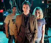 The Doctor, Mickey and Rose