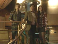 The Doctor, Rory and Amy