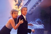 The Twelfth Doctor and River Song