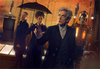 The Twelfth Doctor, Missy, the Master and Bill